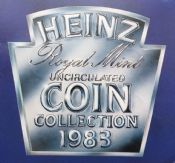1983 Brilliant Uncirculated Coin Collection HEINZ Version